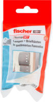 Fischer Lampen/Briefkasten-Montage-Set »B DE«, WDVS
