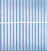 Kunststoffmatte »Rügen « aluminium