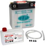 Landport 6N6-3B-1 Motorrad Batterie mit Säurepaket, 6V, 6Ah