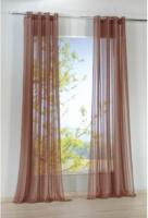 Vorhang Flash, mit Ösen, ca. 140 x 245 cm, taupe