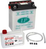 Landport YB3L-A Motorrad Batterie mit Säurepaket, 12V, 3Ah