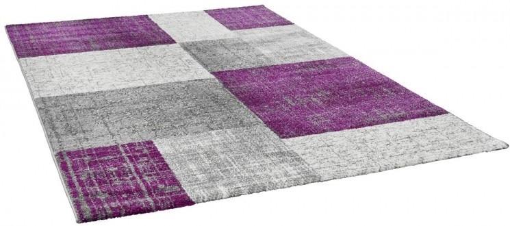 POCO Teppich San Remo ca 120 x 170 cm lila Angebot für