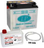 Landport Y50-N18L-A2 Motorrad Batterie mit Säurepaket, 12V, 30Ah