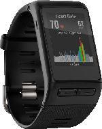 Fitnesstracker - Garmin Vivoactive HR XL, Sport-GPS-Smartwatch mit Herzfrequenzmessung am Handgelenk, Schwarz