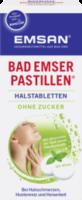 Bad Emser Pastillen Halstabletten ohne Zucker