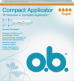 Tampons Compact Applikator super