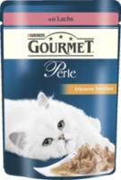 Nassfutter für Katzen, Perle Erlesene Streifen mit Lachs