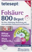 Folsäure 800 Depot Tabletten