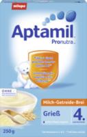 Milch-Getreide-Brei Grieß nach dem 4. Monat
