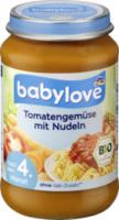 Babymenü Tomatengemüse mit Nudeln nach dem 4. Monat