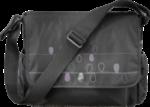 Wickeltasche, schwarz