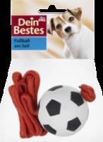 Zubehör für Hunde, Fußball am Seil