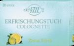 Echt Kölnisch Wasser Erfrischungstuch Colognette Citrus