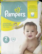 Windeln premium protection New Baby, Größe 2 Mini, 3-6 kg