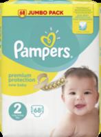 Windeln premium protection New Baby, Größe 2 Mini, 3-6 kg, Jumbo Pack