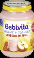 Frucht & Joghurt Erdbeere in Apfel ab 10. Monat