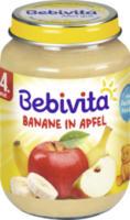 Früchte Banane in Apfel nach dem 4. Monat