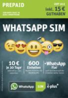 WhatsApp SIM Prepaid Starterpaket