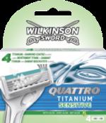 Quattro Titanium Sensitive Rasierklingen