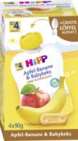 Quetschbeutel Apfel-Banane & Babykeks nach dem 4. Monat, 4x90g