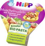 Kinderteller Kinder Bio Pasta Muschelnudeln mit Tomaten und Zucchini ab 1 Jahr