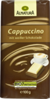 Schokolade Cappuccino mit weißer Schokolade
