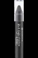 Lidschatten 2in1 eyeshadow & liner black to the routes 04