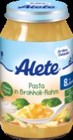 Menü Pasta in Brokkoli-Rahm ab 8. Monat