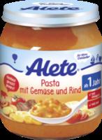 Kindermenü Pasta mit Gemüse und Rind ab 1 Jahr