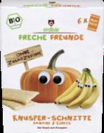Snack Knusper-Schnitte Banane & Kürbis ab 1 Jahr