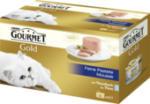 Nassfutter für Katzen, Gold Feine Pastete mit Thunfisch, Multipack 4x85g