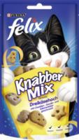Snack für Katzen, KnabberMix Dreikäsehoch