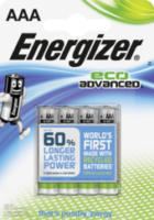 Batterien Eco Advanced Micro AAA Alkali-Mangan