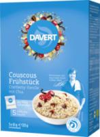 Couscous Frühstück Cranberry-Vanille