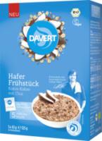 Hafer Frühstück Kokos-Kakao