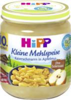 Kleine Mehlspeise Kaiserschmarrn in Apfelmus ab 10. Monat
