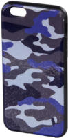 Cover Camouflage iPhone 6 blau/schwarz