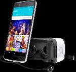 Smartphones - Alcatel Idol 4+ 16 GB Silber Dual SIM
