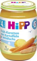 Babymenü Früh-Karotten mit Kartoffeln & Wildlachs nach dem 4. Monat