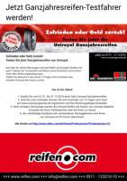 Reifen-Hersteller-Aktionen für das ganze Jahr bei reifen.com