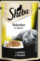Nassfutter für Katzen, Cuisine Portionsbeutel mit Huhn in Sauce