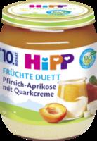 Früchte & Quark Früchte Duett Pfirsich-Aprikose mit Quarkcreme ab 10. Monat
