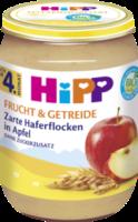 Frucht & Getreide Zarte Haferflocken in Apfel nach dem 4. Monat