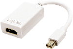 Logilink Mini DisplayPort 1.1a zu HDMI Adapter 15cm, weiß