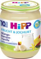 Frucht & Joghurt Mango-Banane-Vanille ab 10. Monat