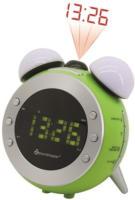 UR 140 GR Uhrenradio grün
