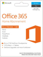 Office 365 Home POSA PKC - Product Key Card