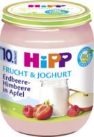 Frucht & Joghurt Erdbeere-Himbeere in Apfel ab 10. Monat