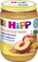 Frucht & Getreide Apfel-Pfirsich mit Vollkorn ab 8. Monat