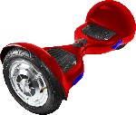 Self Balancing Scooter - Iconbit Smart Scooter (Rot) selbststabilisierendes Fahrzeug (10 Zoll, 158 Wh, Rot)